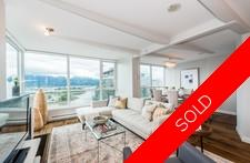 Coal Harbour COAL HARBOUR VIEW CONDO for sale: Classico 2 plus den 1,280 sq.ft. (Listed 2017-05-15)